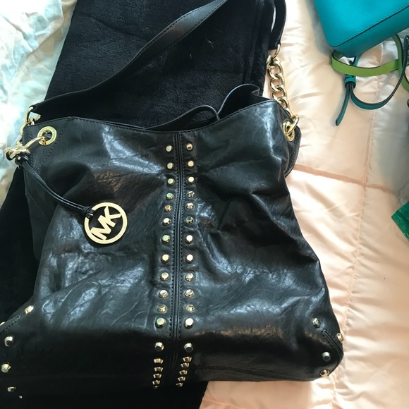 90c8458ba2e6 Michael Kors Bags | Uptown Astor Black Shoulder Bag | Poshmark